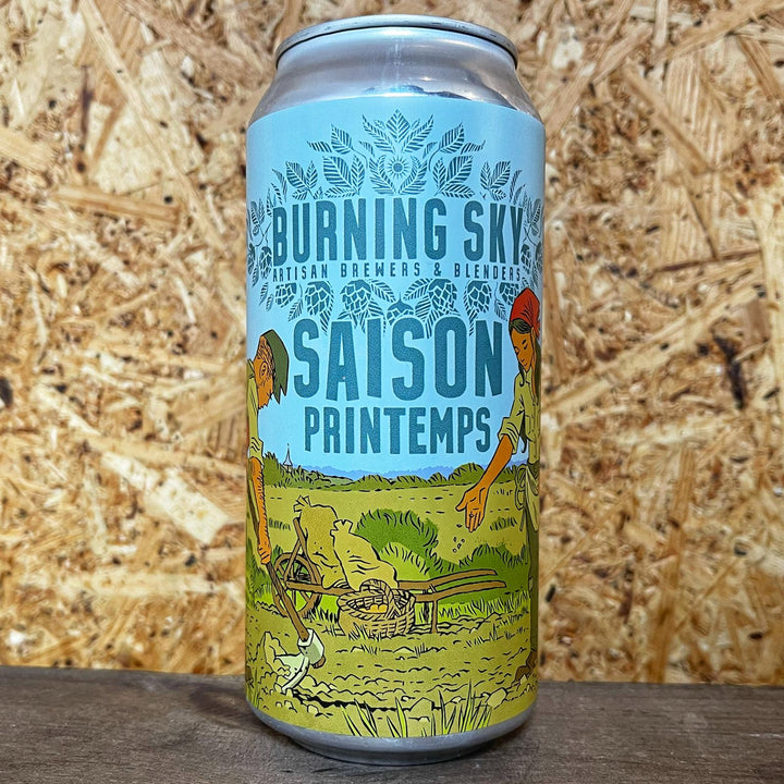 Burning Sky Saison Printemps 4.2% (440ml)