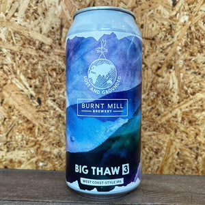 Lost Grounded x Burnt Mill Big Thaw 3 WC IPA 6.3% (440ml)