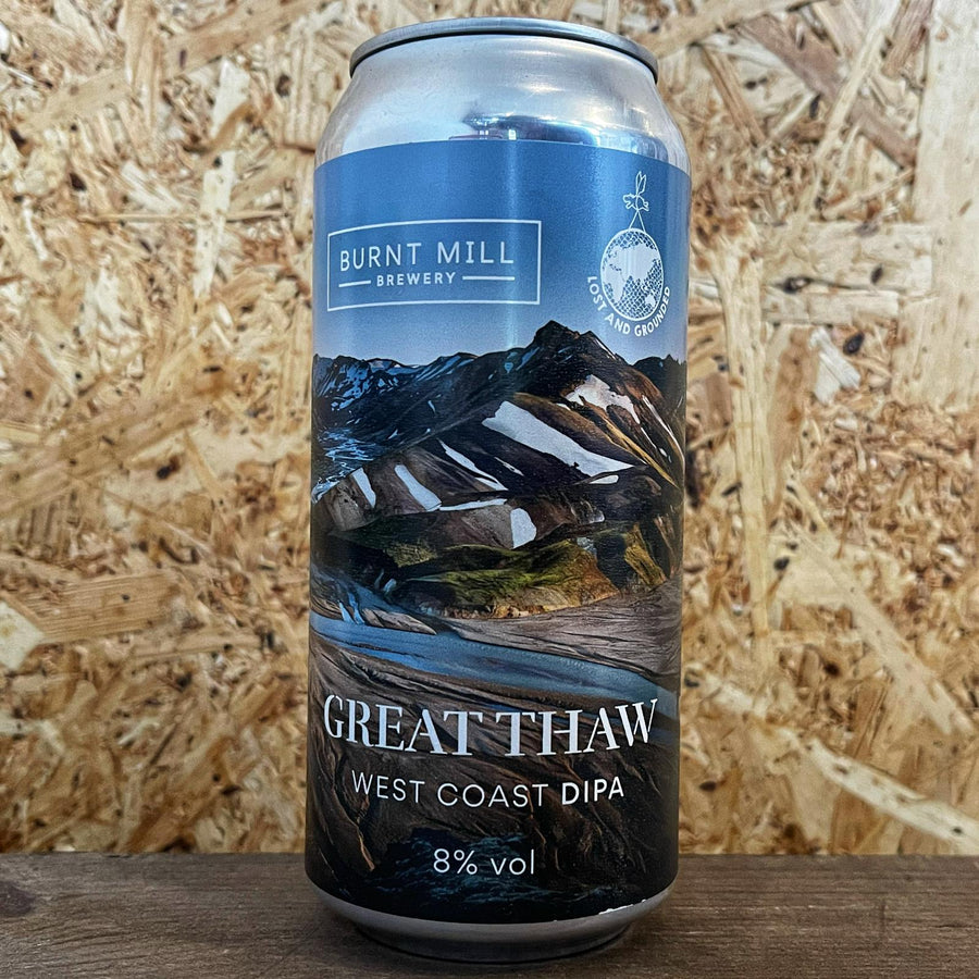 Burnt Mill x Lost and Grounded Great Thaw West Coast DIPA 8% (440ml)