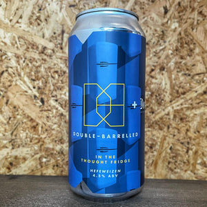 Double Barrelled x Donzoko In The Thought Fridge Hefeweizen 4.5% (440ml)