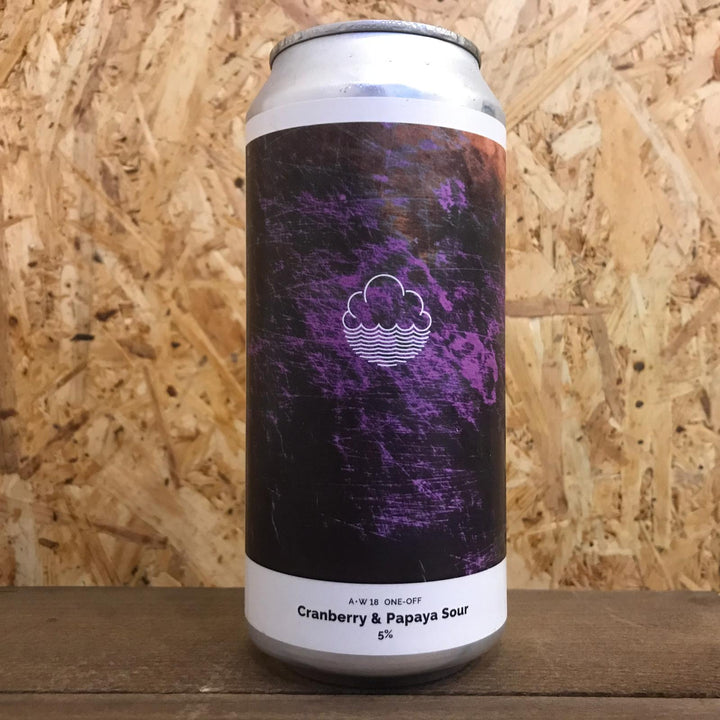 Cloudwater Cranberry and Papaya Sour 5% (440ml)