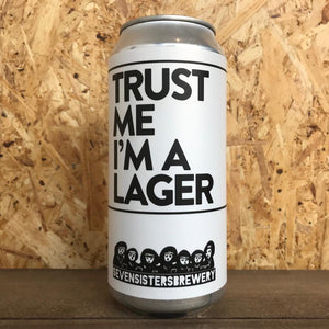 Seven Sisters Trust Me I'm A Lager 4% (440ml)