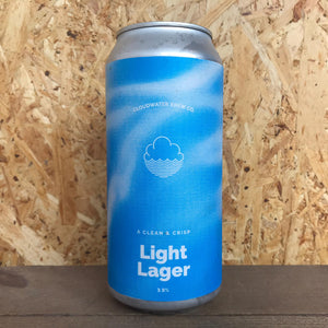 Cloudwater Light Lager 3.6% (440ml)