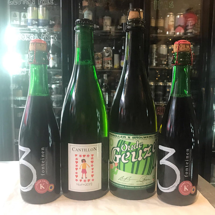Lambic Pack 4 (2x750ml & 2x375ml)