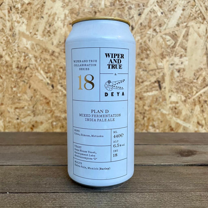 Wiper and True DEYA Plan D Bretted IPA 6.5% (440ml)