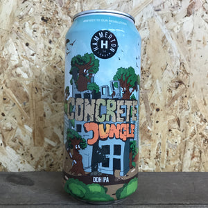 Hammerton Concrete Jungle DDH IPA 6.2% (440ml)