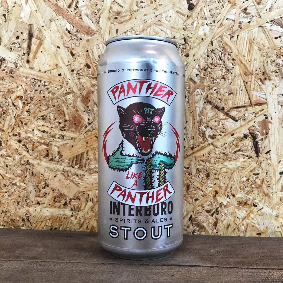 Interboro x Pipeworks x Run The Jewels Panther Like a Panther 6.5% (473ml)