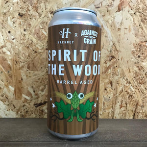 Hackney x Against The Grain Spirit Of The Wood 8.5% (440ml)