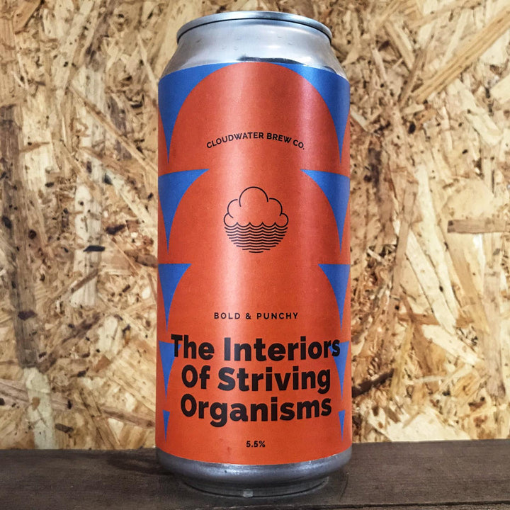 Cloudwater The Interiors Of Striving Organisms 5.5% (440ml)