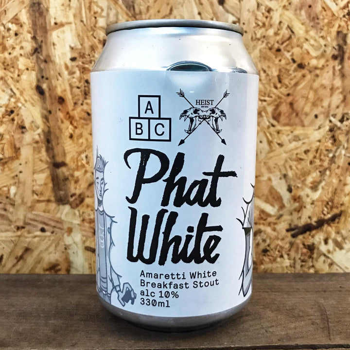 Alphabet x Heist Phat White 10% (330ml)