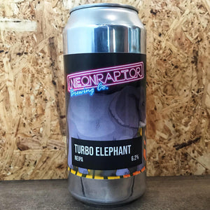 Neon Raptor Turbo Elephant 6.2% (440ml)