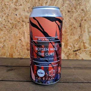Brick x KCBC Boysen Was The Cure Imperial Sour 7.1% (440ml)
