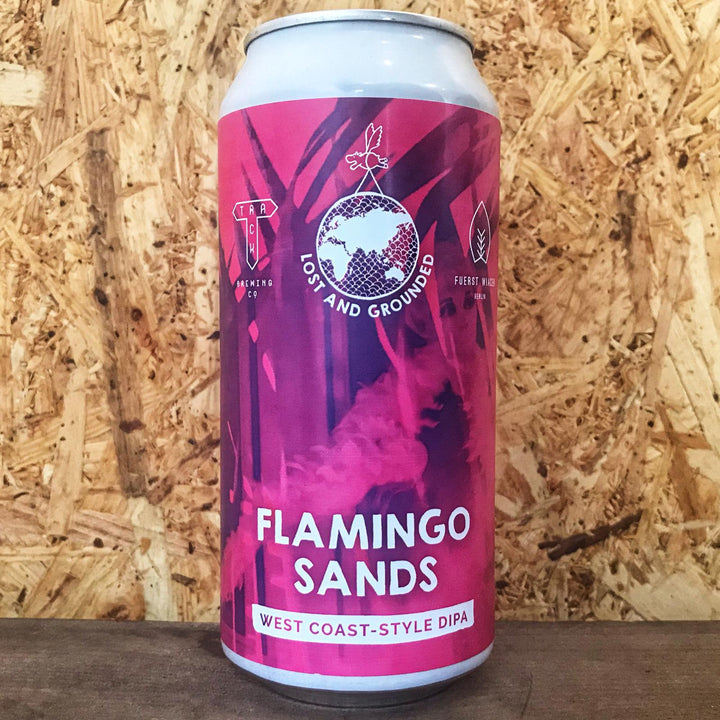 Lost & Grounded x Track x Fuerst Wiacek Flamingo Sands DIPA 8% (440ml)