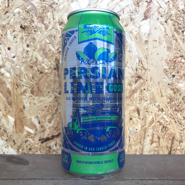 Two Roads Persian Lime Gose 4.5% (473ml)