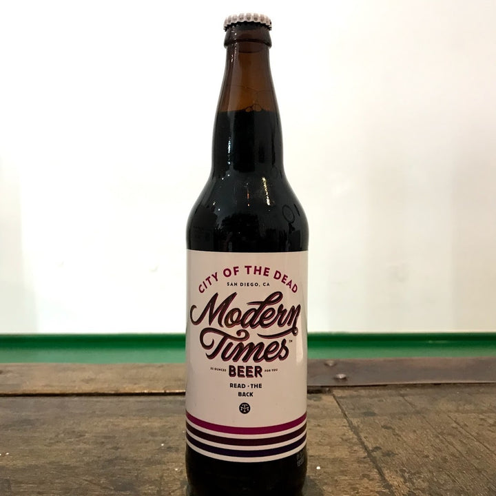 Modern Times City Of The Dead 7.5% (650ml)