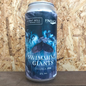 Burnt Mill X Finback Swimming Giants DIPA 8% (440ml)