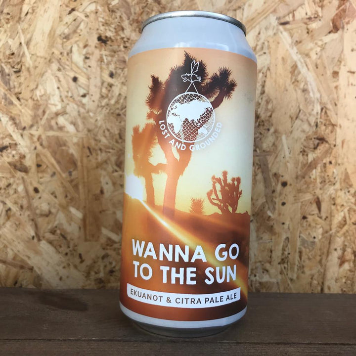 Lost and Grounded Wanna Go To The Sun 4.6% (440ml)