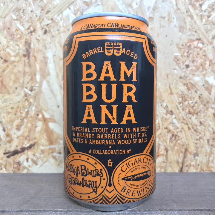 Oskar Blues x Cigar City Bamburana 12.2% (355ml)