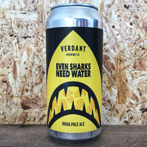 Verdant Brewing Even Sharks Need Water IPA 6.5% (440ml)