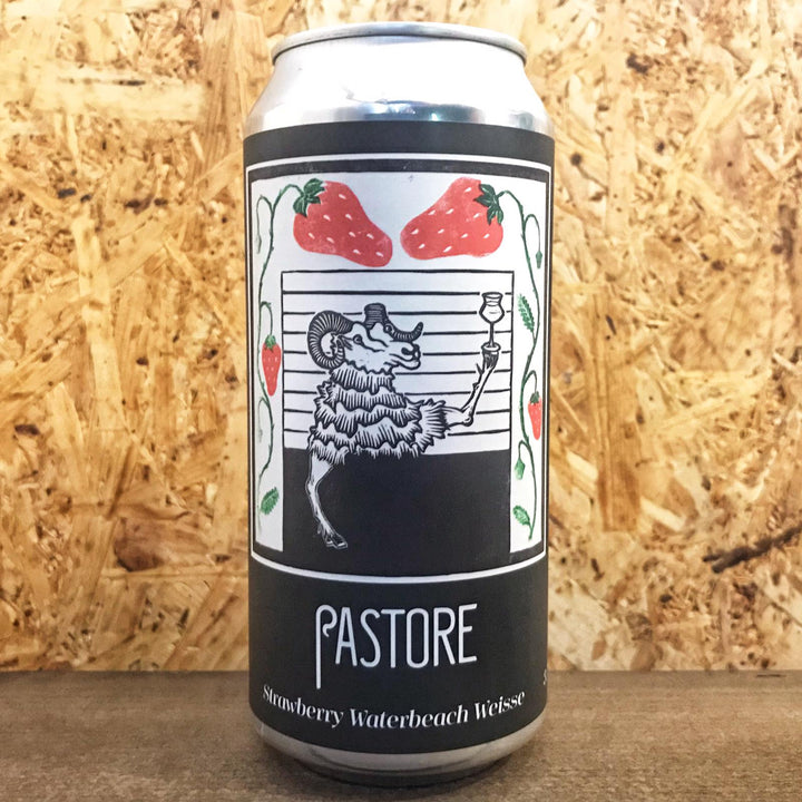Pastore Strawberry Waterbeach Weiss 3.7% (440ml)