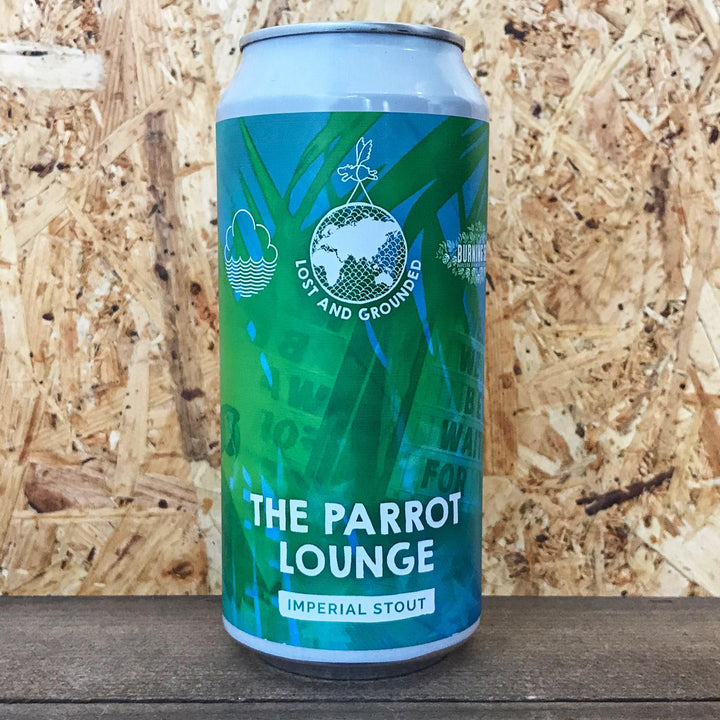 Lost & Grounded x Cloudwater x Burning Sky The Parrot Lounge Stout 8% (440ml)