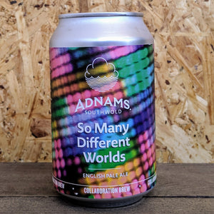 Adnams x Cloudwater So Many Different Worlds Pale Ale 3.7% (330ml)