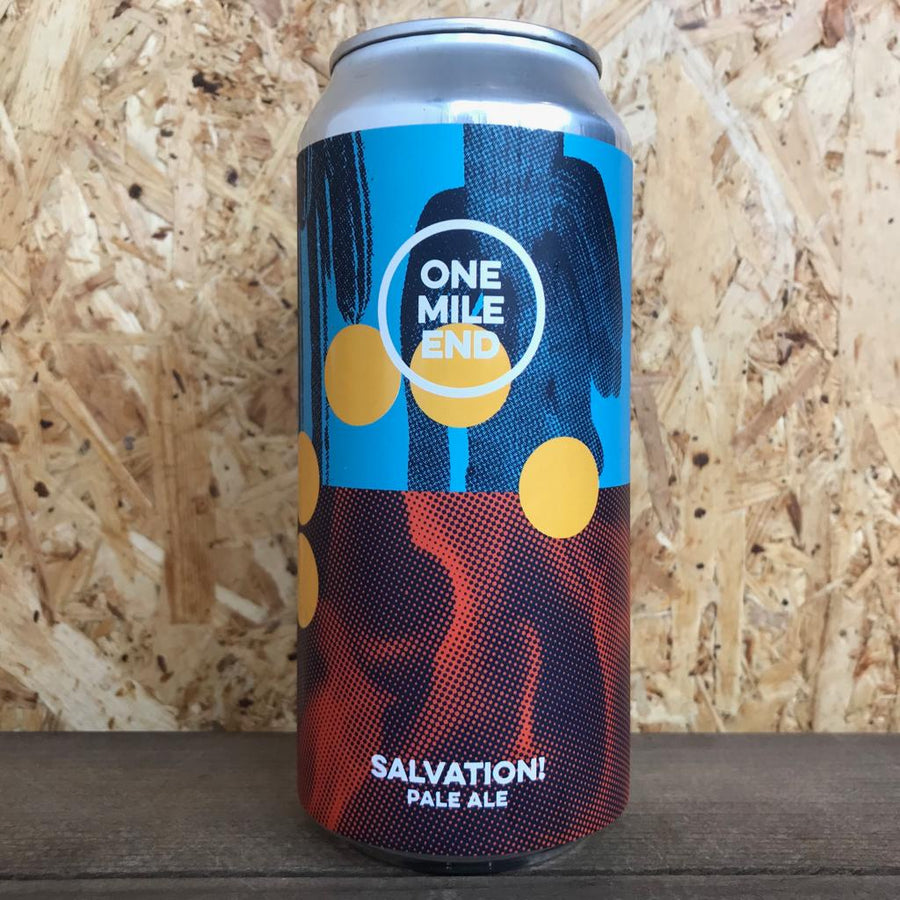 One Mile End Salvation! Pale Ale 4.4% (440ml)