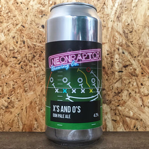 Neon Raptor Xs and Os DDH Pale 4.2% (440ml)