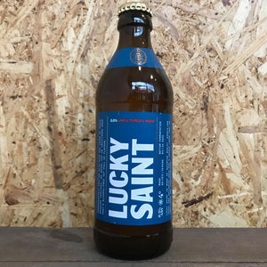 Lucky Saint Unflitered Lager 0.5% (330ml)