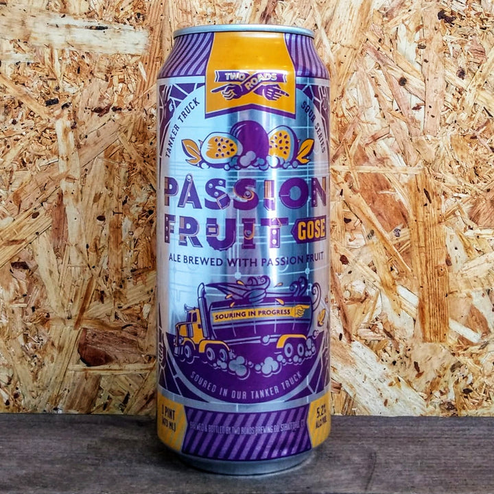 Two Roads Passion Fruit Gose 5.2% (473ml)