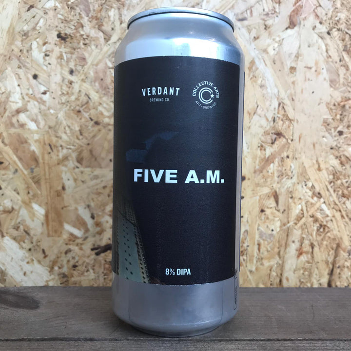 Verdant x Collective Arts FIVE A.M. DIPA 8% (440ml)