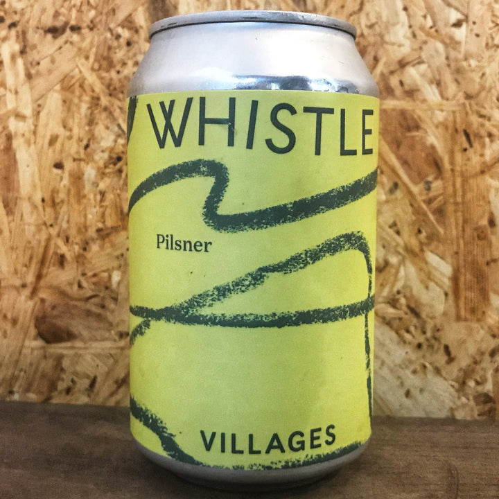 Villages Whistle Pilsner 4.4% (330ml)