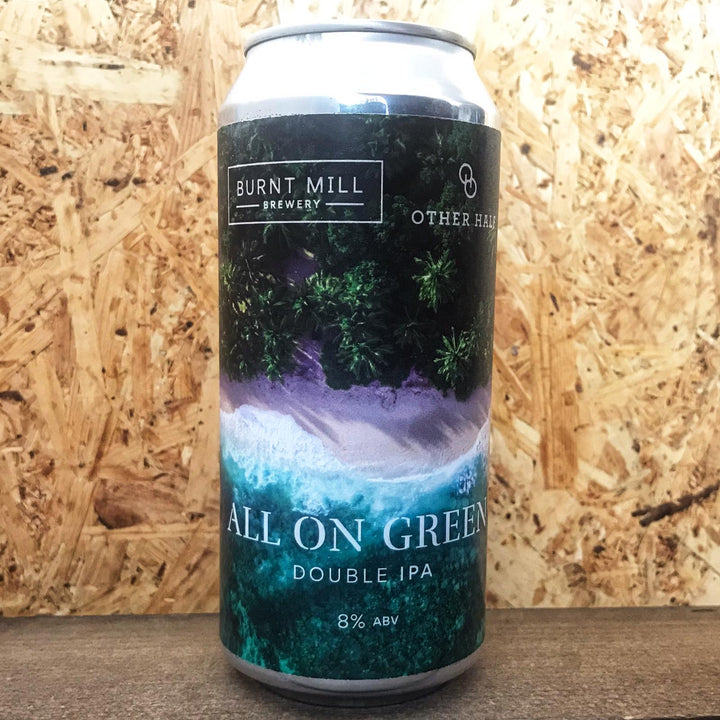 Burnt Mill x Other Half All On Green DIPA 8% (440ml)