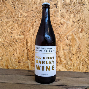 Five Points Old Greg's Barley Wine 2018 12.4% (660ml)