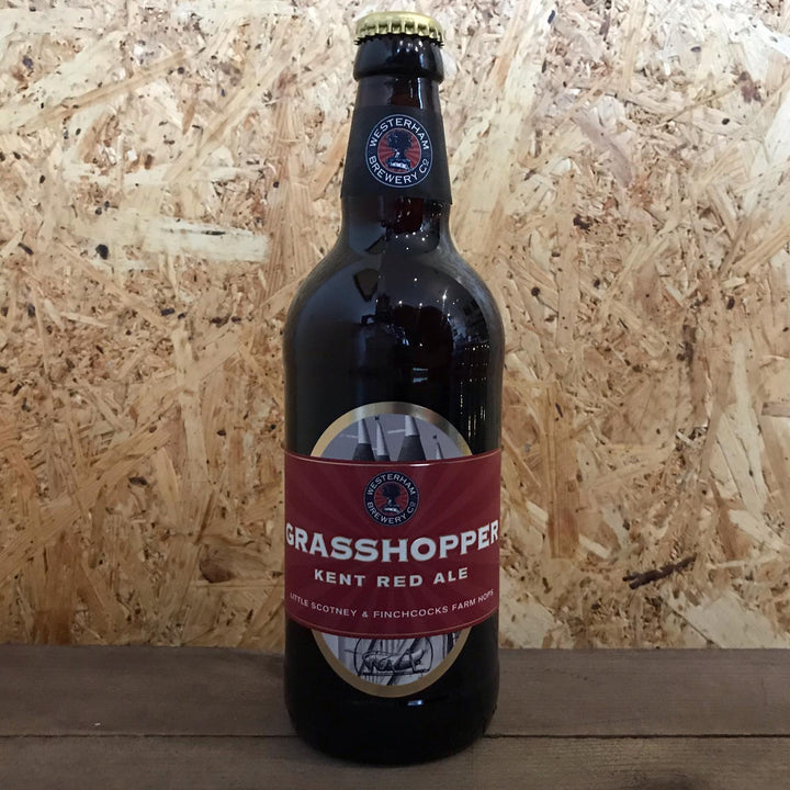 Westerham Grasshopper Red Ale 3.8% (500ml)