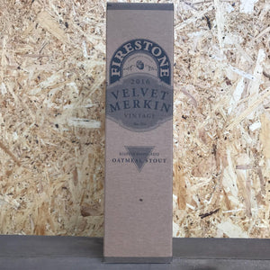 Firestone Walker Velvet Merkin 2016 Oatmeal Stout 8.5% (650ml)