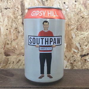 Gipsy Hill Southpaw Amber Ale 4.2% (330ml)