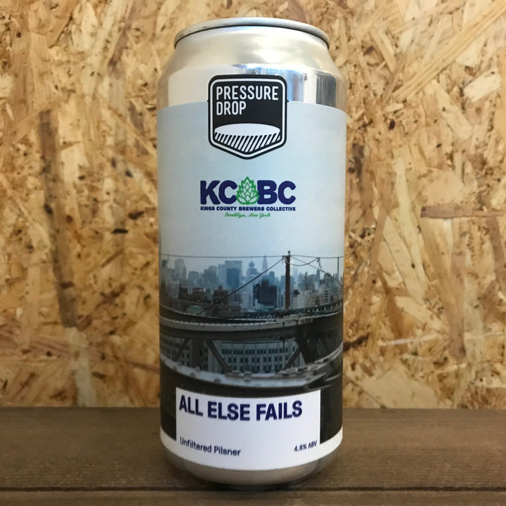 Pressure Drop x KCBC All Else Fails Unfiltered Pilsner 4.8% (440ml)