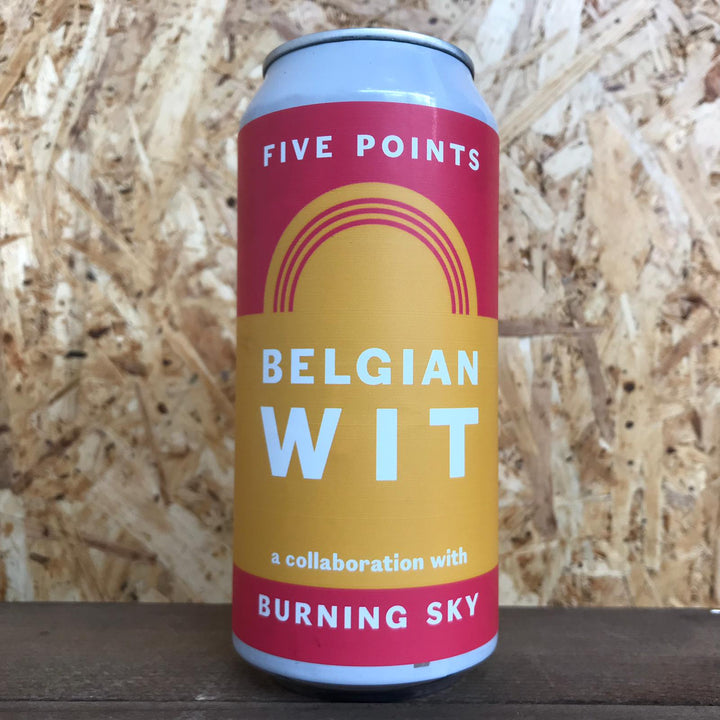 Five Points x Burning Sky Belgian Wit 5% (440ml)