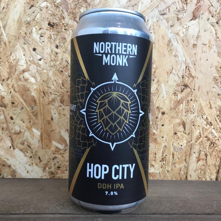 Northern Monk x Deya x Cloudwater x Verdant x Wylam Hop City 2019 DDH IPA 7% (440ml)