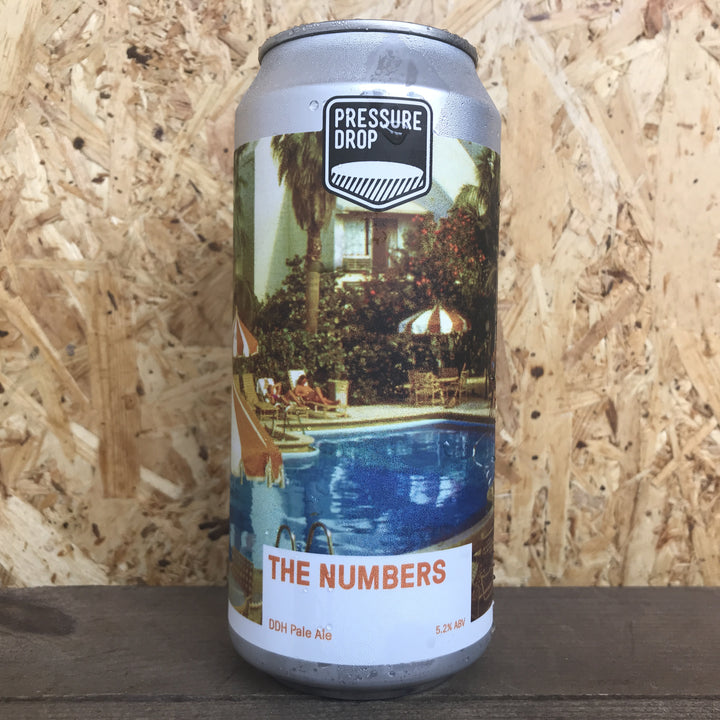 Pressure Drop The Numbers DDH Pale Ale 5.2% (440ml)