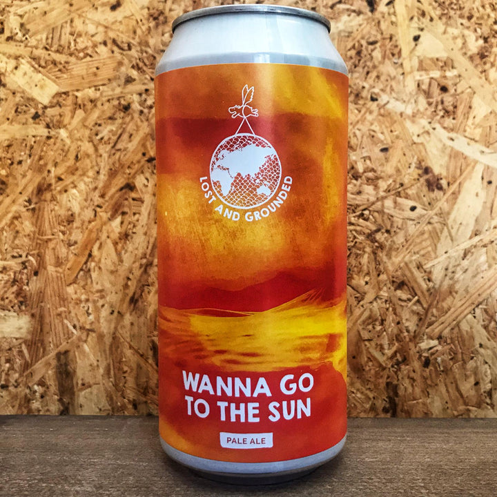 Lost & Grounded Wanna Go To The Sun Pale Ale 4.6% (440ml)