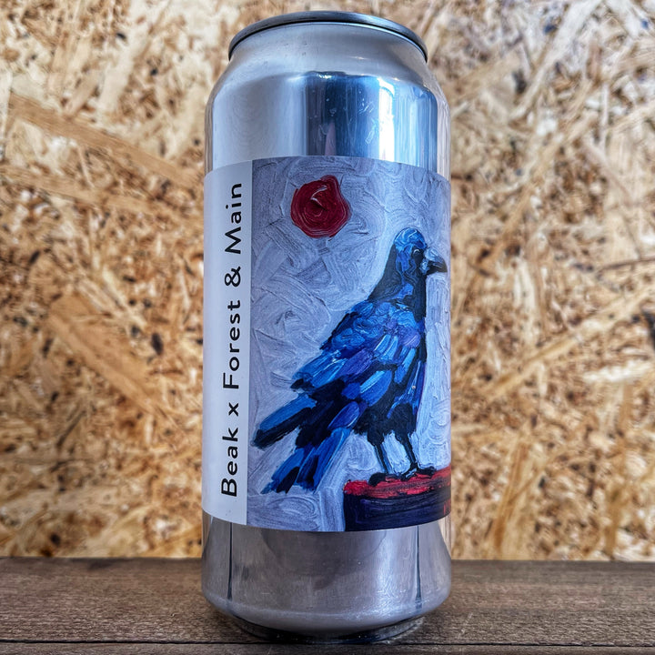 Beak x Forest & Main Cliffe Saison 6.5% (440ml)