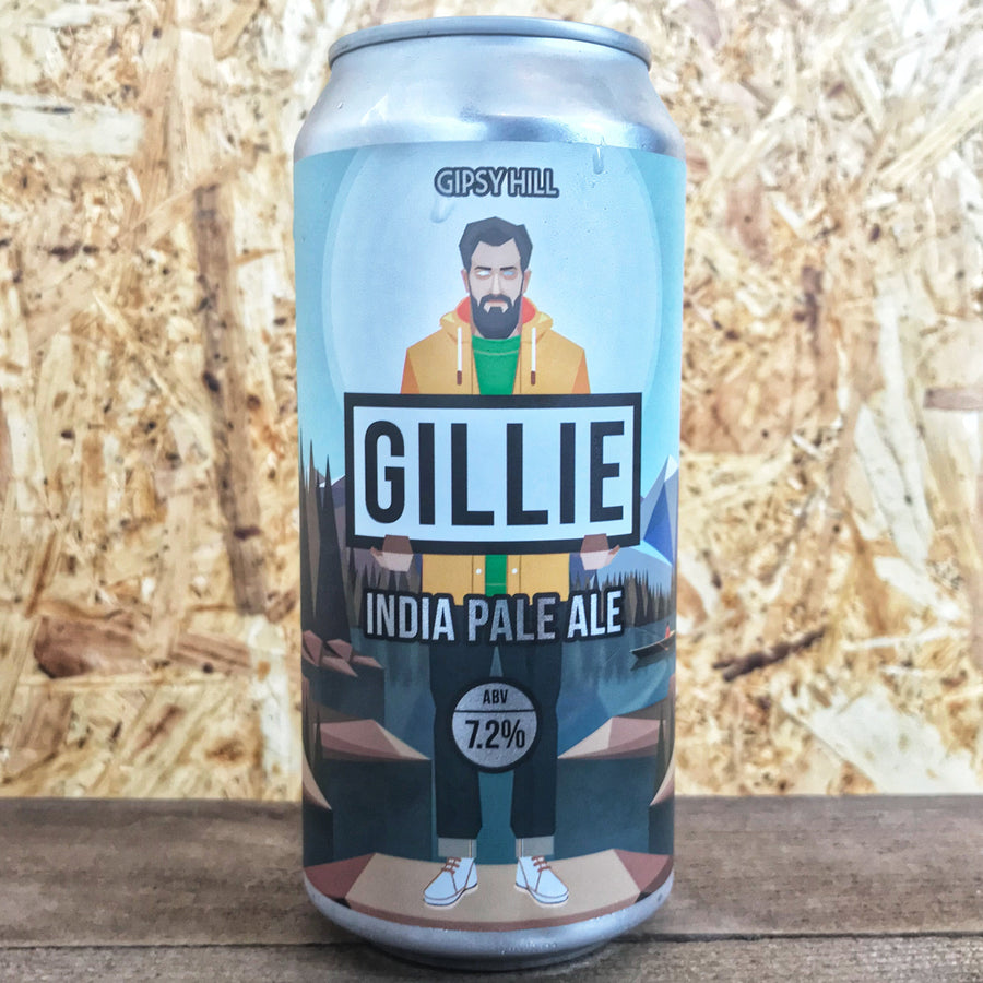 Gipsy Hill Gillie IPA 7.2% (440ml)