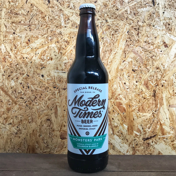 Modern Times Monsters' Park Aged in Bourbon Barrels 13.6% (650ml)