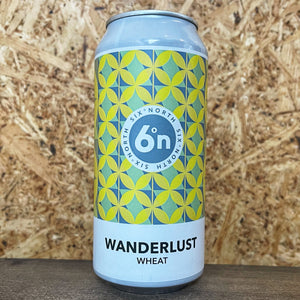 six°north Wanderlust Wheat Beer 4.6% (440ml)