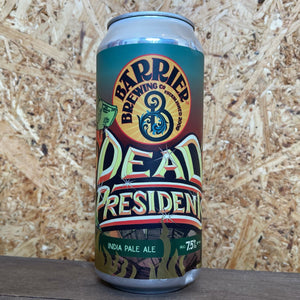 Barrier Dead Presidents NE IPA 7.5% (473ml)