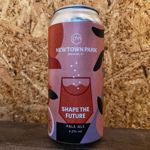 Newtown Park x Pink Boots Shape The Future Pale 4.2% (440ml)