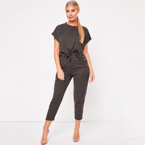 Summer Lounge Wear Tracksuit Sets
