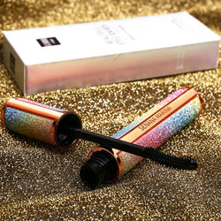 Starry Sky Mascara 4D Silk Fiber Eyelash Mascara Long Thick Curling Waterproof